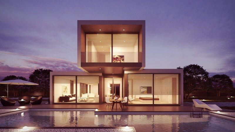 Bezpieczny dom lub mieszkanie